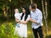 rodzinna sesja zdjęciowa w Tarnowie - las