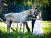 sesja ślubna - sesja z koniem - fotograf Brzesko - fotograf ślubny Bochnia