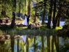 sesja ślubna nad jeziorem - miejsce na plener po ślubie - fotograf Bapacifoto - fotograf ślubny Brzesko